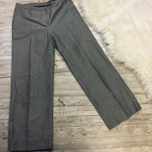 Hugo Boss - Silk Blend B&W Crop Pant Trousers